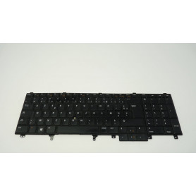 Clavier Occasion Dell LATITUDE E6400 E6410 E6500 E6510 GERMAN DEUTSCHE M984 0WP242 Keypad Keyboard WP242