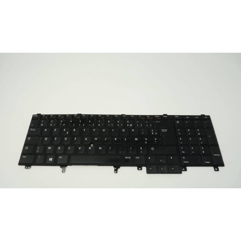 Clavier Occasion Dell LATITUDE E6400 E6410 E6500 E6510 GERMAN DEUTSCHE M984 0WP242 Keypad Keyboard WP242