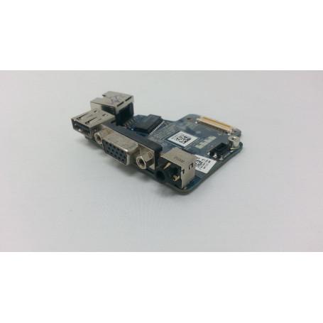 dstockmicro.com Carte Ethernet - VGA - USB - Audio LS-6592P pour DELL Latitude E6420