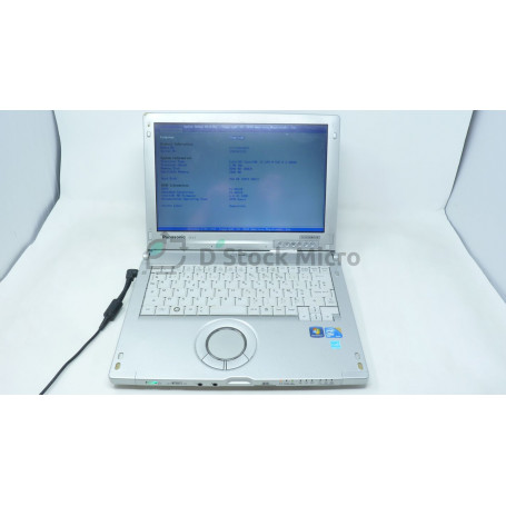 Panasonic CF-C1 - M 520 - 2 Go - Without hard drive - Not installed - Functional, for parts,Broken plastics