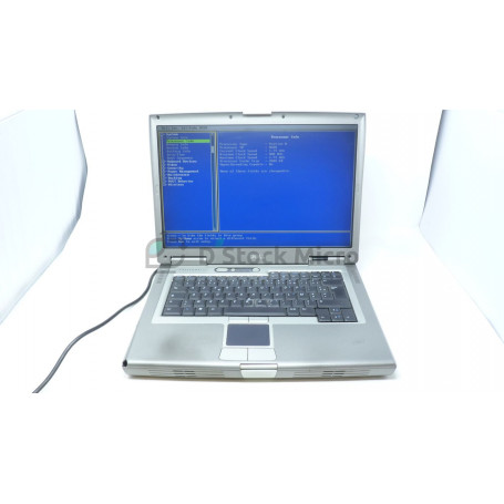 DELL Latitude D810 - Pentium M - 1 Go - Without hard drive - Not installed - Functional, for parts,Broken / missing keyboard