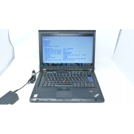 Lenovo Lenovo T400 - P8600 - 3 Go - Without hard drive - Not installed - Functional, for parts,Broken Plastics