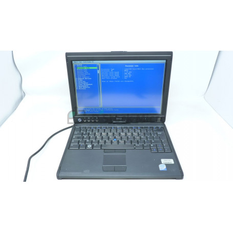 DELL Latitude XT - Core 2 duo - 2 Go - Without hard drive - Not installed - Functional, for parts,Broken Touchpad