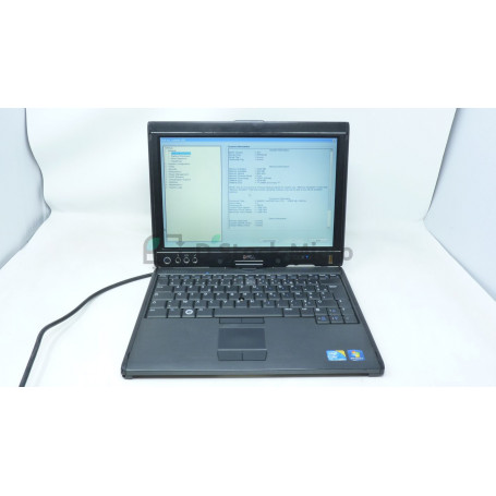 DELL Latitude XT2 - U9400 - 1 Go - Without hard drive - Not installed - Functional, for parts,Broken plastics