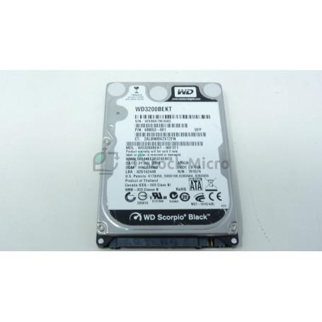 "dstockmicro.com - Western Digital WD3200BEKT 320 Go 2.5"" SATA Disque dur HDD 7200 tr/min"
