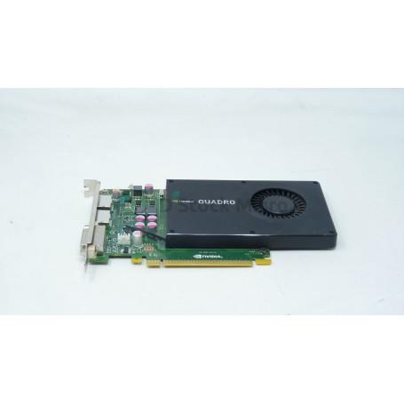 dstockmicro.com Carte vidéo PCI-E Nvidia QUADRO K2000 2 Go GDDR5