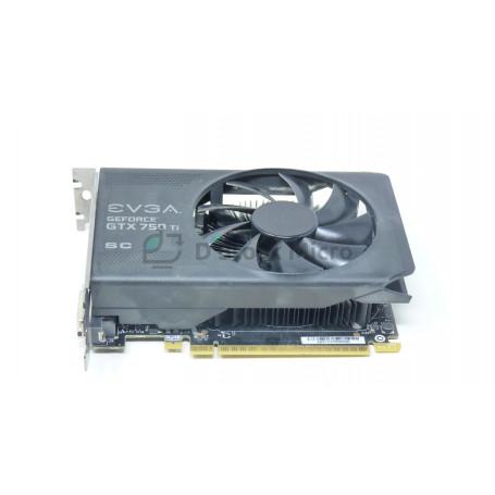dstockmicro.com Graphic card PCI-E EVGA GeForce GTX 750TI 2 Go GDDR5