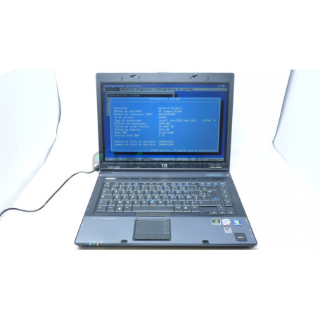dstockmicro.com HP Compaq 8510w - Core 2 Duo - T7700 - 4 Go - Without hard drive - Windows 10 Pro - Functional