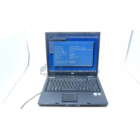dstockmicro.com HP Compaq nx6125 - AMD Turion - ML-28 - 1 Go - Without hard drive - Windows 10 Pro - Functional