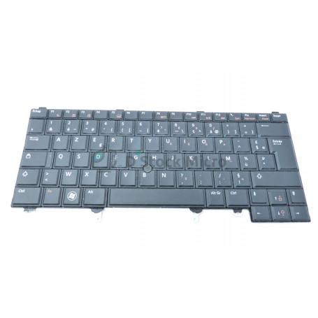Clavier AZERTY 005G3P C181 pour DELL Latitude E5420, E6420, E6420 ATG