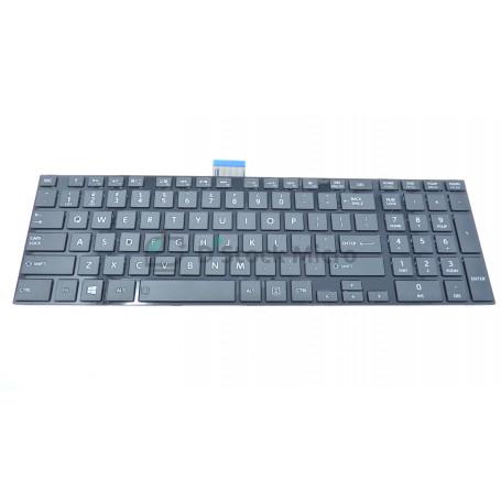 Clavier QWERTY 0KN0-ZW1US2212 MP-11B53US-528W pour Toshiba Satellite L875D, L850D