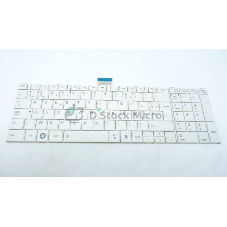 Clavier AZERTY 0KN0-ZW4FR0212243009606 MP-11B96F0-5281 pour Toshiba Satellite C870D