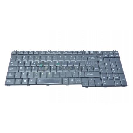 Clavier AZERTY PK130731A15 MP-06876F0-6984 pour Toshiba Satellite L550D, L550
