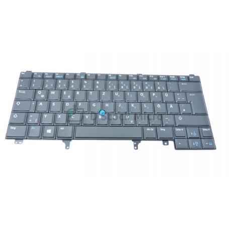 Clavier QWERTZU 024JH4 NSK-DV4BC pour DELL Latitude E6440, E5420