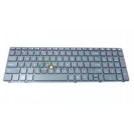 Clavier QWERTY 652682-B31 Water pour HP Elitebook 8570w