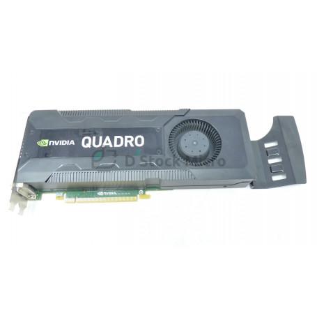 Graphic card PCI-E Nvidia Quadro K5000 4 Go GDDR5