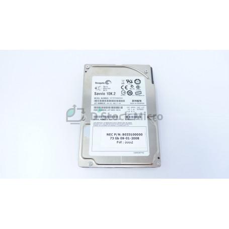 """dstockmicro.com - Hard disk drive 2.5"""" SAS 73 Go 10K.2 SEAGATE ST973402SS 9F4066-003 8033100000"""