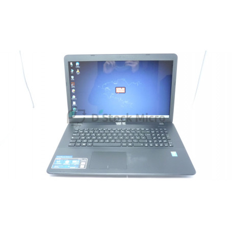 "dstockmicro.com Asus X751MA-TY284H 17.3"" HDD 500 Go Pentium N3540 4 Go Windows 10 Home"