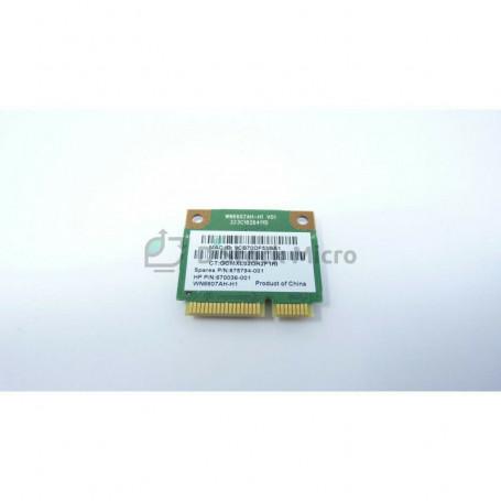 Wifi card Atheros AR5B125 HP Pavilion G7-2051SF 675794-001