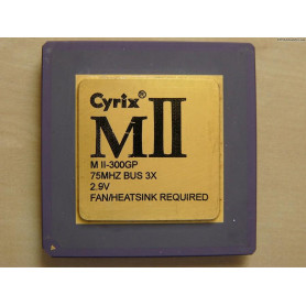 Processeur  CYRIX MII-300GP...