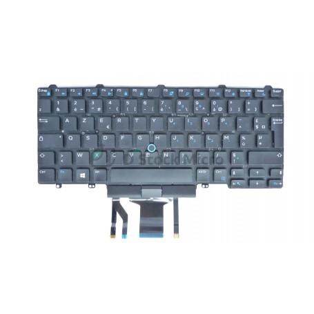 dstockmicro.com Clavier AZERTY - NSK-LKDBC - 0W93F7 pour DELL Latitude E7450