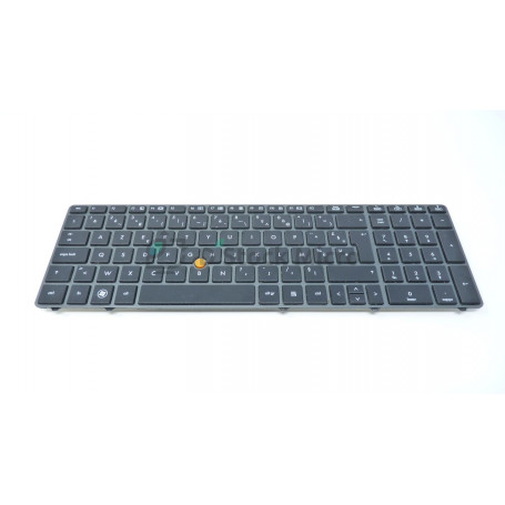 Clavier 652682-061 pour HP Elitebook 8570w