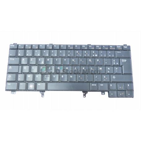 dstockmicro.com Clavier AZERTY - MP-10H9,NSK-DVAUF 0F,C174,V118925CK1 - 0RDKN9 pour DELL Latitude E5420,Latitude E5430,Latitude